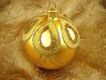 золото шарика Стоковая Фотография RF