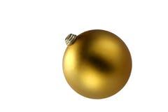 золото шарика Стоковые Изображения