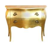золото шкафа Стоковые Фото