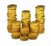 золото 00 монеток Стоковое фото RF