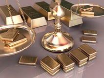 золото Стоковое Изображение