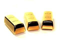 золото 3 миллиарда Стоковые Изображения RF