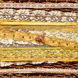 золото dragonfly предпосылки Стоковые Фото