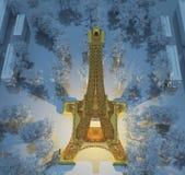 Золото Effel Стоковое Изображение