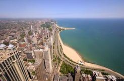 золото s свободного полета chicago Стоковая Фотография RF