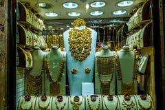 Золото Souk Дубай стоковая фотография