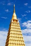 Золотые модели Bodhgaya стоковые фотографии rf