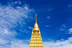 Золотые модели Bodhgaya стоковое фото rf