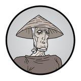 Зомби значка Стоковая Фотография RF
