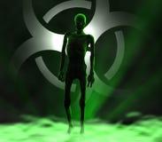 Зомби - приходящ вперед Стоковое Изображение RF