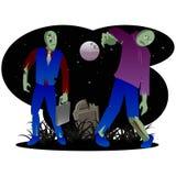 Зомби хеллоуин Стоковая Фотография RF