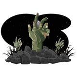 Зомби хеллоуин Стоковая Фотография