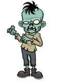 Зомби шаржа Стоковая Фотография RF