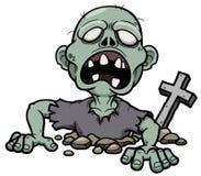 Зомби шаржа Стоковая Фотография