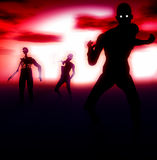 Зомби 110 Стоковое Изображение