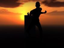 Зомби 45 Стоковая Фотография