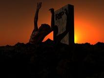 Зомби 46 Стоковое Изображение RF