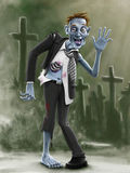 зомби Стоковая Фотография RF