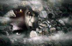 зомби halloween Стоковое Изображение