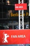 Зона вентилятора вне Berlinale Palast Стоковые Изображения RF