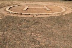Зона вертодрома Стоковая Фотография RF