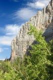 Зона воссоздания гор весны национальная Стоковое Изображение