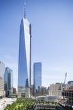 Зона всемирного торгового центра, Нью-Йорк, редакционный Стоковое Изображение RF