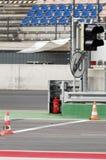 зона выходя след гонки Стоковая Фотография RF