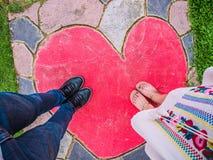 Зона влюбленности Стоковая Фотография RF