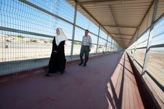 зона Газа граници стоковая фотография