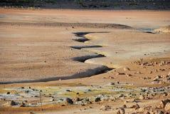зона геотермическая Стоковое Изображение