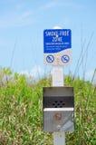 зона живой природы дыма знака зоны свободная чувствительная Стоковые Фотографии RF