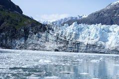 Зона залива ледника - ледник Стоковая Фотография
