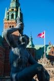 Зона замка Frederiksborg на Hillerod Стоковое Изображение RF