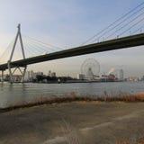 Зона залива Осака Стоковые Фотографии RF