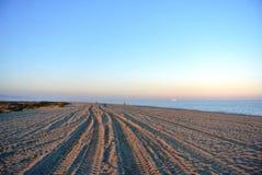 Зона и запас Punta Entinas-Sabinar естественные Стоковая Фотография