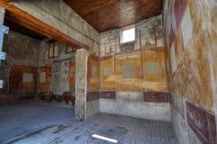 Зона кампании Помпеи, Неаполь, Италия стоковое фото rf