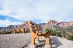 Зона Лас-Вегас консервации красного каньона утеса национальная, NV Стоковые Фото