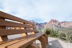 Зона Лас-Вегас консервации красного каньона утеса национальная, NV Стоковые Фотографии RF