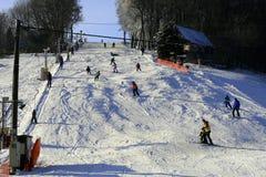 Зона лыжи Стоковая Фотография