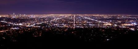 Зона метро Лос-Анджелеса Стоковые Фото