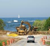 зона Мичигана озера дюн конструкции стоковые фото