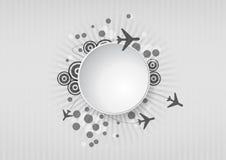 Зона перемещения иллюстрация вектора