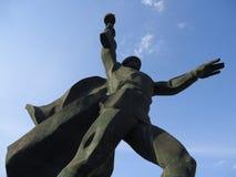 Зона Ростова, памятник солдата Shakhty Стоковые Фотографии RF