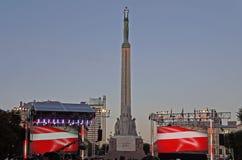Зона свободы в Риге Латвии стоковое фото rf
