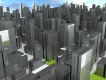 зона урбанская Стоковое Изображение RF