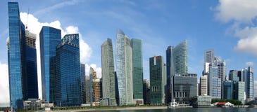 зона финансовохозяйственный singapore Стоковое Изображение RF