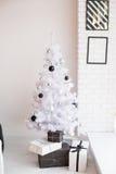 Зона фото рождества в винтажном стиле Стоковые Изображения
