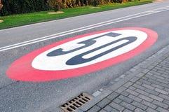 зона 50 Стоковое Изображение RF