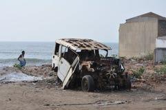 Зона chennai удара цунами Стоковые Изображения